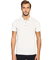 Vince - Cotton-Modal Mix-Stitch Short Sleeve Polo