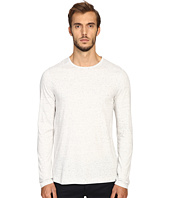 Vince - Cotton-Modal Mix-Stitch Long Sleeve Crew