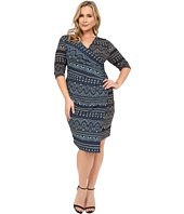 Kiyonna - Chic Cinch Faux Wrap Dress