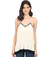 Brigitte Bailey - Ballard Embroidered Drop Spaghetti Strap Tank Top