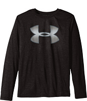 Under Armour Kids - Novelty Big Logo Long Sleeve T-Shirt (Big Kids)