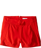 Ella Moss Girl - Alma Cuffed Woven Shorts (Big Kids)