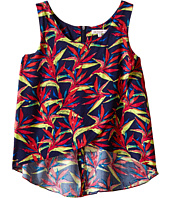 Ella Moss Girl - Kira Tulip Woven Top (Big Kids)