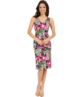 Nicole Miller - Batiki Printed Hip Tuck Dress