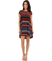 Karen Kane - Stripe Maggie Trapeze Dress