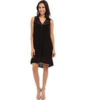 Karen Kane - Crushed Lace Inset Dress