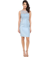 Adrianna Papell - Bow Detail Lace Top Sheath