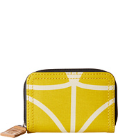 Orla Kiely - Giant Linear Stem Small Medium Zip Wallet