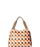 Orla Kiely - Poppy Cat Print Zip Shoulder
