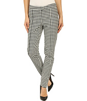 Adrianna Papell - Gingham Jacquard Pants