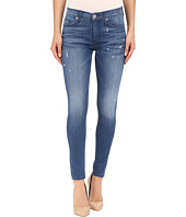Hudson - Nico Mid-Rise Ankle Skinny with Distress in Wipeout