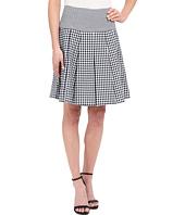 MICHAEL Michael Kors - Fit Flare Pleat Skirt