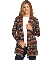 Woolrich - Dew Berry Hooded Fairisle Cardigan II