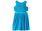 Georgette Tank Ringer w/ Cut Out Bodice & Full Skirt (Big Kids)