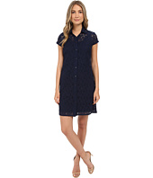 Christin Michaels - Lace T-Shirt Dress