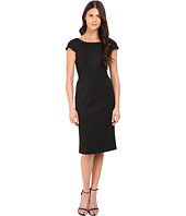 Zac Posen - Short Sleeve Fitted Sheath Dress