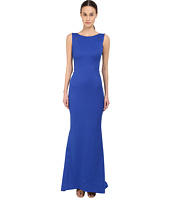 Zac Posen - Sleeveless Boat Neck Gown