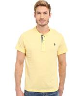 U.S. POLO ASSN. - Slim Fit Textured Henley T-Shirt