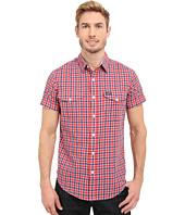 U.S. POLO ASSN. - Slim Fit Short Sleeve Plaid Sport Shirt