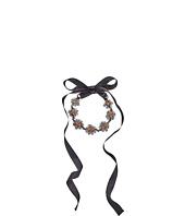 Oscar de la Renta - Crystal Flower Petal Necklace