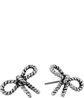 Marc Jacobs - Bow Rope Bow Studs Earrings