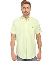 U.S. POLO ASSN. - Short Sleeve Button Down Oxford Shirt