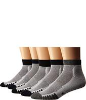 Ecco Socks - Anklet Cushion w/ Mesh Top Socks - 5 pack