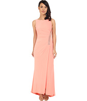Calvin Klein - Sleeveless Gown with Beading and Side Ruching CD6B1V3T
