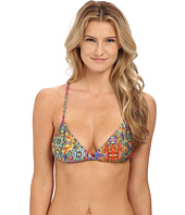 Luli Fama - Gipsy Soul Cross Over Bra w/ Adjustable Back Tie