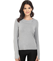 Trina Turk - Jersey Long Sleeve Hooded Top