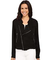 Blank NYC - Silk Zipper Detail Jacket