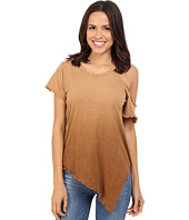 LNA - Cut Out Shoulder Tee