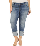 KUT from the Kloth - Plus Size Cameron Straight Leg in Fervent