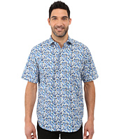 BUGATCHI - Bondi Beach Classic Fit Short Sleeve Woven Shirt