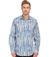 BUGATCHI - Brush Stroke Classic Fit Long Sleeve Woven Shirt