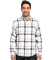 BUGATCHI - Bogart Classic Fit Long Sleeve Linen Shirt