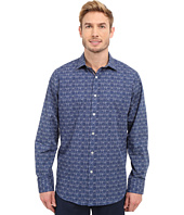BUGATCHI - Sorrento Classic Fit Long Sleeve Woven Shirt