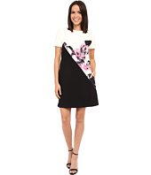 Ellen Tracy - Color Blocked Shift Dress
