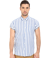 Scotch & Soda - Short Sleeve Shirt in Open Weave with Contrast Inside