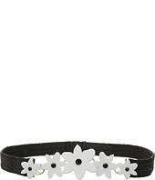 Kate Spade New York - Stretch Straw Belt w/ Lilly Belt