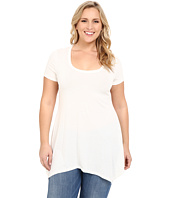 Christin Michaels - Plus Size Joselyn Short Sleeve Top