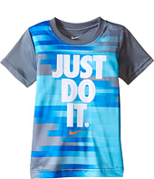 Nike Kids - Just Do It™ Splice Dri-FIT™ Short Sleeve Tee (Toddler)