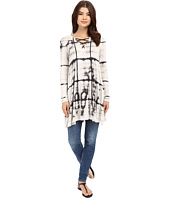 Culture Phit - Cellia Tie-Front Long Sleeve Ribbed Top