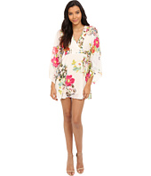 Brigitte Bailey - Cora Kimono Dress with Tie-Waist