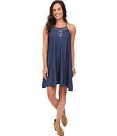 Roper - 0425 5 OZ Indigo Denim Sharkbite Dress