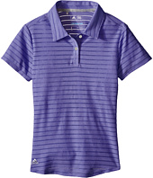 adidas Golf Kids - Essential Cotton Hand Stripe Polo (Big Kids)