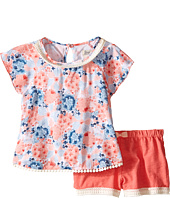 Lucky Brand Kids - Flora Printed Set (Toddler)