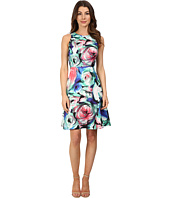 Donna Morgan - Sleeveless Printed Twill Fit and Flare