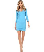 Nicole Miller - Mercedes V-Neck Long Sleeve Dress