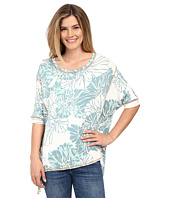 Miraclebody Jeans - Twila Seamed Tee w/ Body-Shaping Inner Shell